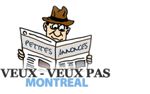 Veux - Veux Pas Montréal, free classified ads Website